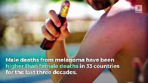 Skin Cancer Deaths Are Rising for Men [Video]