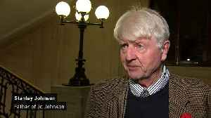 Stanley Johnson: 'I am impressed at Jo's resignation' [Video]
