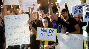 Google Walkout Protests Discrimination And Sexual Harassment [Video]
