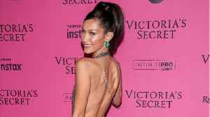 Bella Hadid Stuns In Daring Dress [Video]