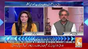 Shahbaz Sharif Aur Nawaz Sharif Jail Chale Gaye To Party Kon Sambhale Ga ? Watch Shahid Khaqan's Answer [Video]