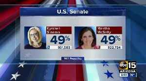 Kyrsten Sinema takes slight lead over Martha McSally in Arizona Senate race [Video]