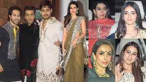Karan Johar's Diwali Party: Sara Ali, Ananya Pandey, Kareena Kapoor attend; Watch Video | FilmiBeat [Video]