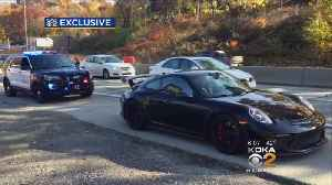 Steelers' WR Antonio Brown Cited For Going 100-Plus MPH On McKnight Road [Video]