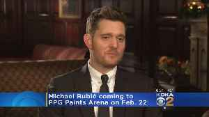 Michael Buble To Make Tour Stop In Pittsburgh [Video]
