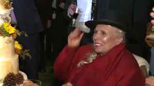 Singer Joni Mitchell celebrates 75th birthday with tribute concert. [Video]