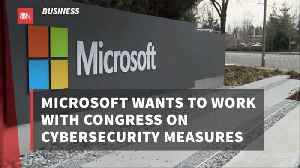 Microsoft Wants To Assist Congress On Cyber Security [Video]