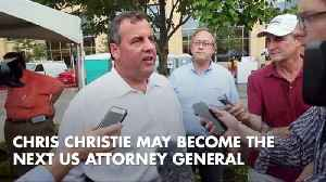 Will Chris Christie Become The Next AG [Video]