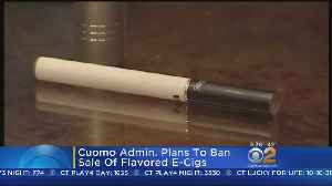 Report: N.Y. Looking To Ban Flavored E-Cigarettes [Video]
