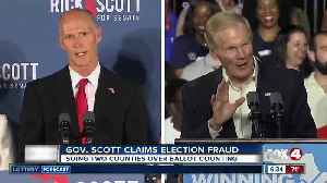 Gov. Scott claims election fraud, suing two counties over ballot counting [Video]