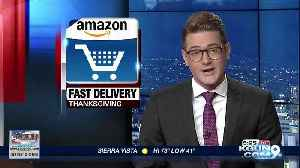 Amazon offering fast delivery this Thanksgiving [Video]