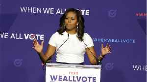 News video: Michelle Obama Discusses Miscarriage, IVF
