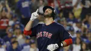 Boston's J.D. Martinez Wins Two Silver Slugger Awards [Video]