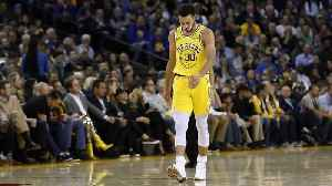 Stephen Curry Exits Loss With Adductor Strain [Video]