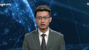 News video: China reveal world's first virtual news presenters