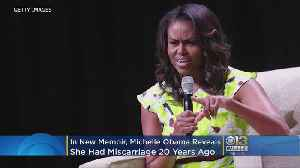 Michelle Obama Reveals She Had A Miscarriage In Her New Memoir [Video]