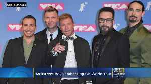 The Backstreet Boys Are Embarking On New World Tour [Video]
