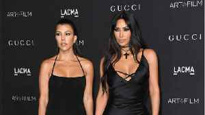 News video: Kim & Kourtney Kardashian Evacuated Homes Due To Wildfire