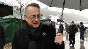 EXCLUSIVE: Tom Hanks Reflects On Resiliency Of Pittsburgh Following Synagogue Shooting [Video]