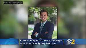 Cook Coounty Board Now Has Its Youngest And First Openly Gay Member [Video]