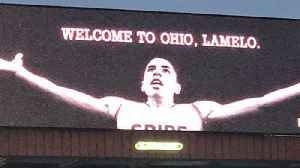 LaMelo Ball Gets The King James Treatment In Ohio: Get's LeBron James Style Billboard [Video]