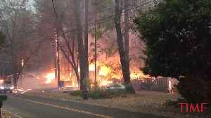 News video: A Fast-Moving Wildfire Has Scorched the Northern California Town of Paradise