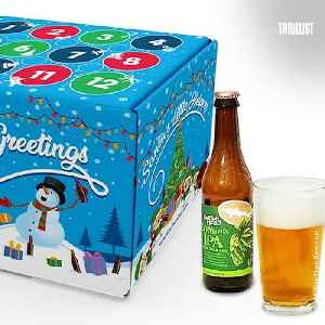 This Advent Calendar Is Full of Beer & It's Going to Get You Through the Holidays [Video]