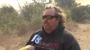 Family Fleeing Wildfire Escaped Home 'Just in Time' [Video]
