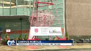Salvation Army of Metro Detroit to install 'world's tallest red kettle' in Cadillac Square [Video]
