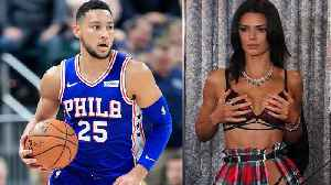 Ben Simmons Caught With Kendall Jenner At White Castle [Video]