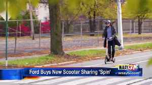 Ford Buys New Scooter Sharing 'Spin' [Video]