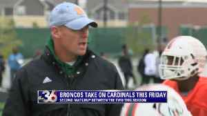 Broncos host Cardinals in playoff match-up [Video]