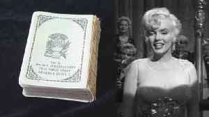 Marilyn Monroe's Prayer Book Up for Auction [Video]