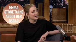 Emma Stone reveals the best thing about winning her Oscar [Video]