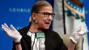 Intrepid, Indefatigable RBG Expected To Make Speedy Recovery [Video]