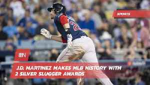 Baseball Superstar JD Martinez Makes History [Video]