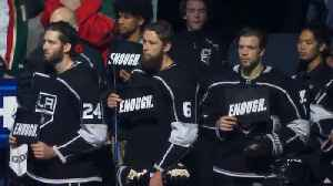 Los Angeles Kings Say Enough After Thousands Oaks Shooting [Video]