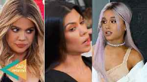 Khloe Kardashian Not Talking To Kourtney Over French Montana! Ariana Grande Shades Pete | DR [Video]