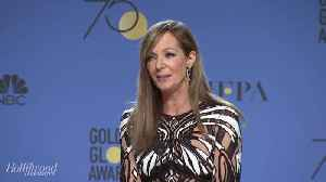 Allison Janney Backstage Q&A | Golden Globes 2018 [Video]