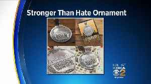'Stronger Than Hate' Ornament To Benefit Synagogue Shooting Victims [Video]