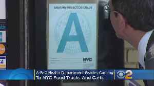 A-B-C Health Department Grades Coming To NYC Food Trucks And Carts [Video]