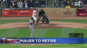 Joe Mauer To Retire From Baseball [Video]