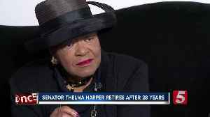 Sen. Harper talks political life, hat collection [Video]