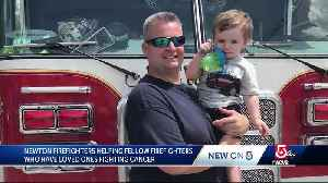 Fundraiser helps firefighters who have family fighting cancer [Video]