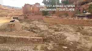 Flash flood kills eight in Jordan [Video]
