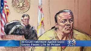 Serial Bomber Suspect Cesar Sayoc Indicted On 30 Counts [Video]