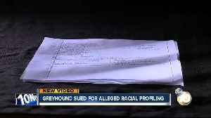 Greyhound sued for alleged racial profiling [Video]