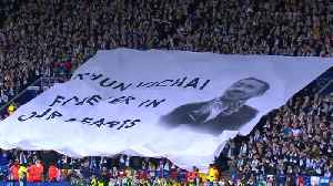Players, fans pay tribute to Vichai ahead of Leicester's match with Burnley [Video]