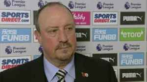 Benitez credits players after win [Video]