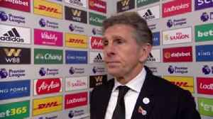 Puel proud of his players [Video]